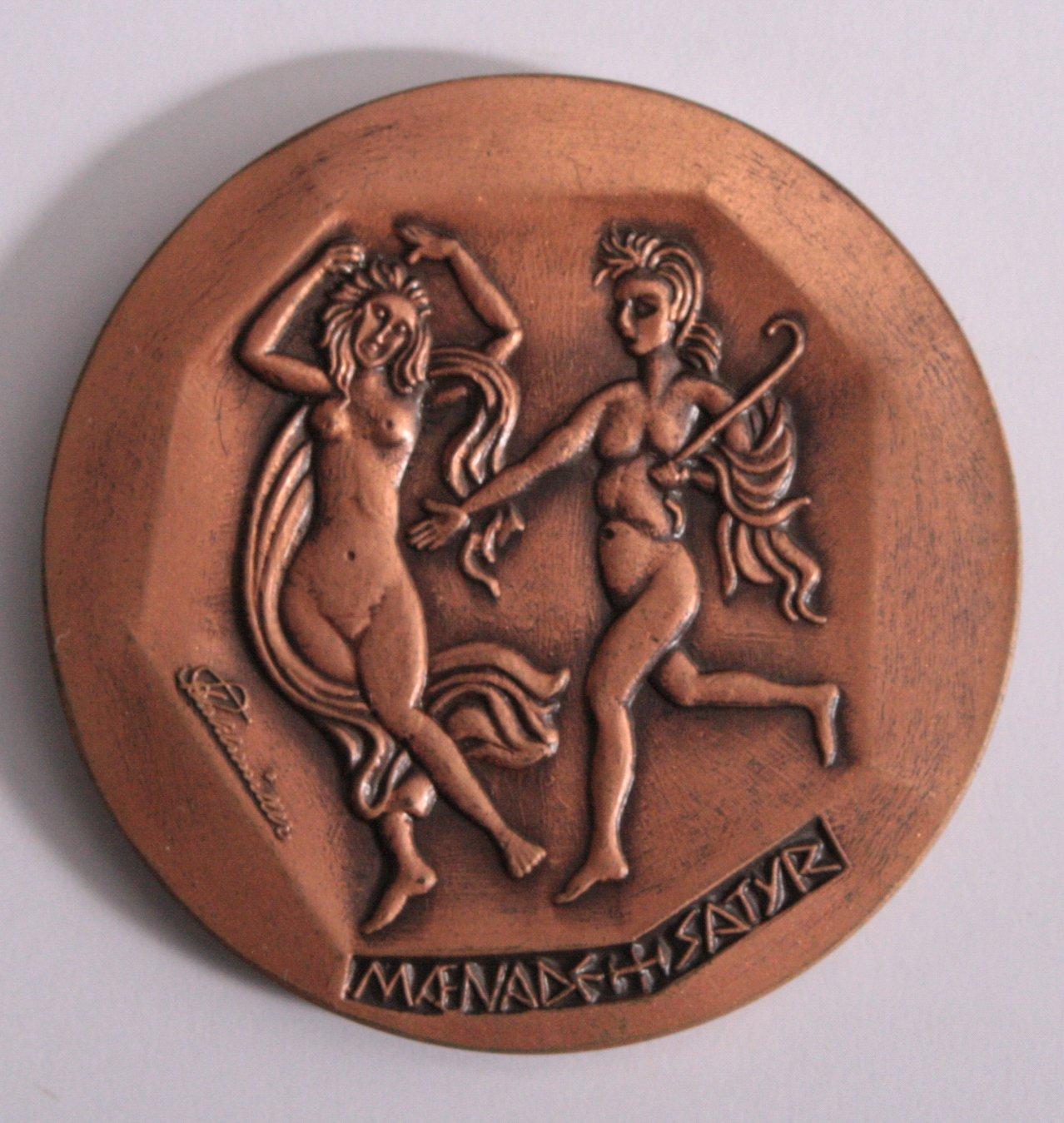 Medaille Köln Fidem 1971, sign. Stuhhlmüller