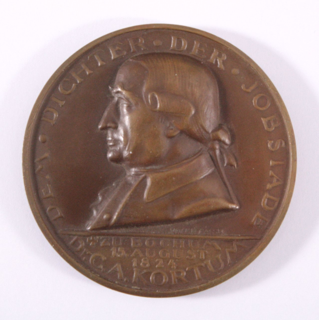 Personenmedaille Dr. Carl Arnold (1745-1824)