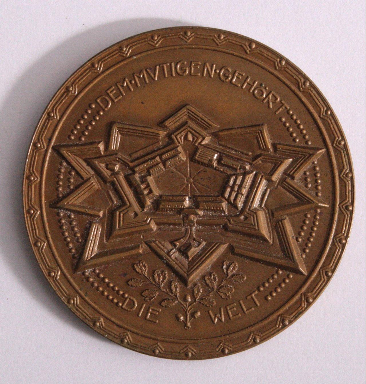 Medaille, Eroberung von Lille 1914