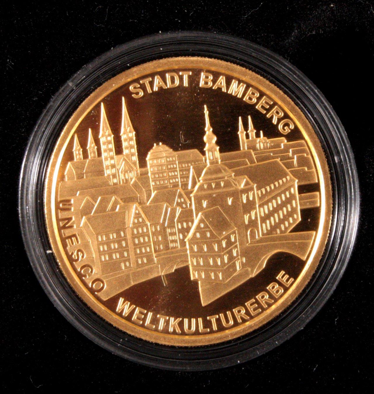 100 Euro UNESCO Weltkulturerbestadt Bamberg