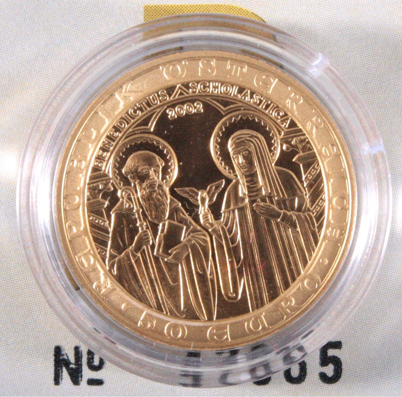Goldmedaille Orden und die Welt 2002, Östereich