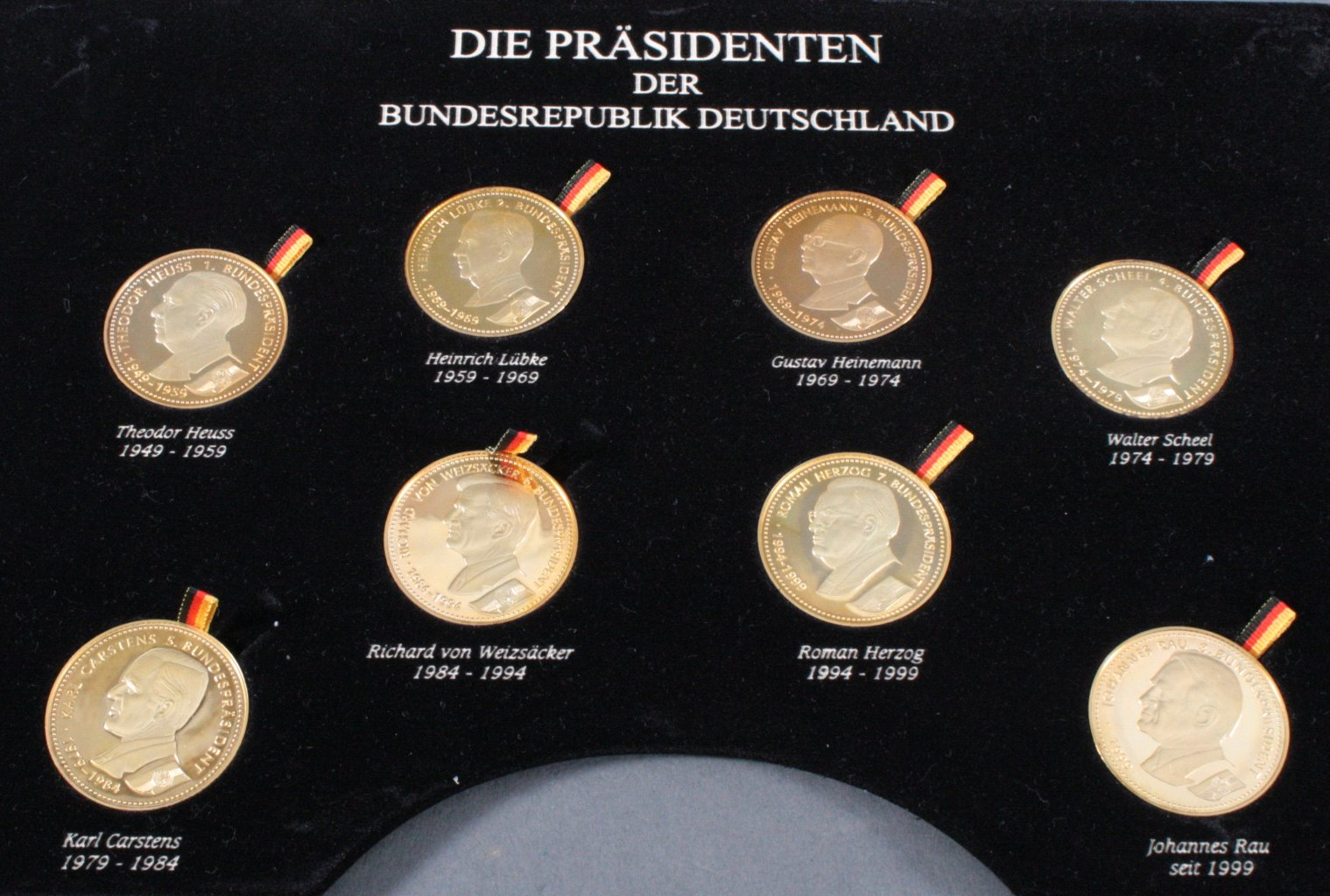Die Präsidenten und Kanzler der Bundesrepublik Deutschland-1