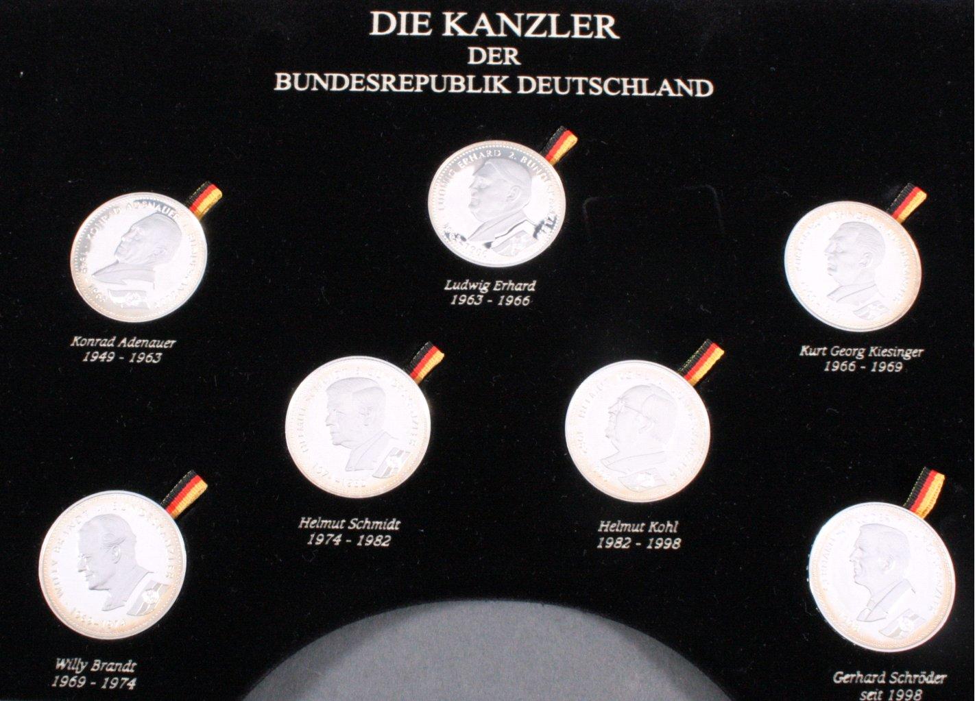 Die Präsidenten und Kanzler der Bundesrepublik Deutschland-2