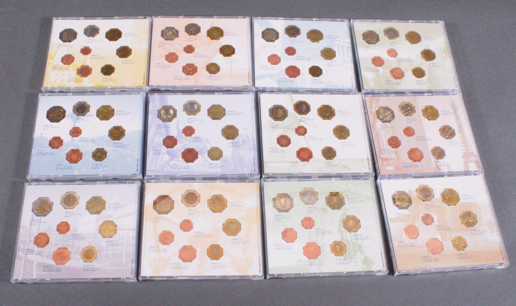 Die neuen nationalen Euromünzen 2002