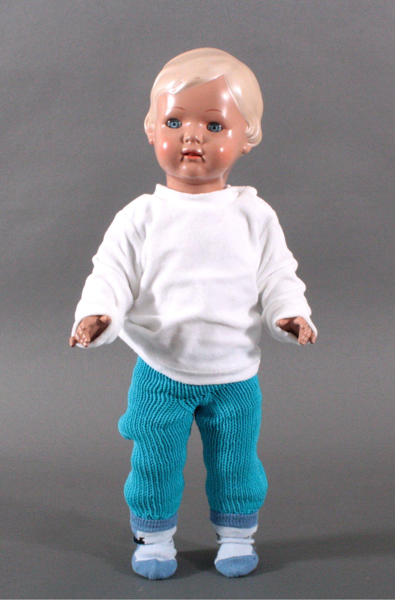 Puppe der Marke Schildkröt aus den sechziger Jahren