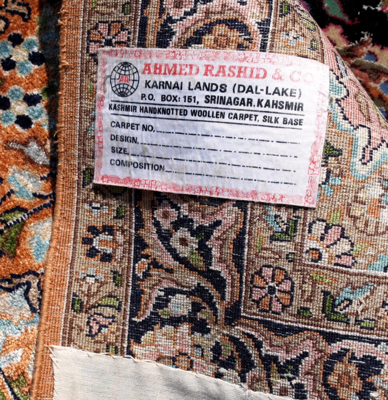 Orientteppich, Kaschmirseide-2