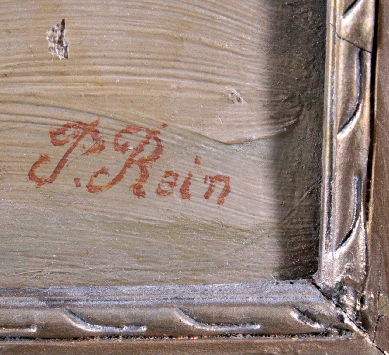 """Paul REIN (1885-1946) """"Abstrakte Parkansicht""""-2"""