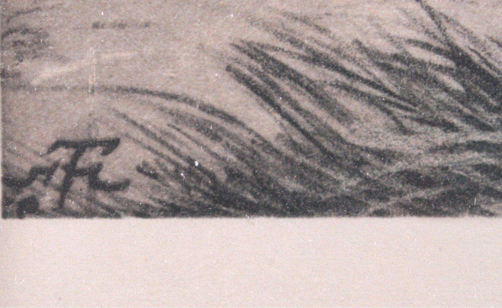 """Hans Thoma (1839-1924) """"Sommerliche Landschaft""""-3"""
