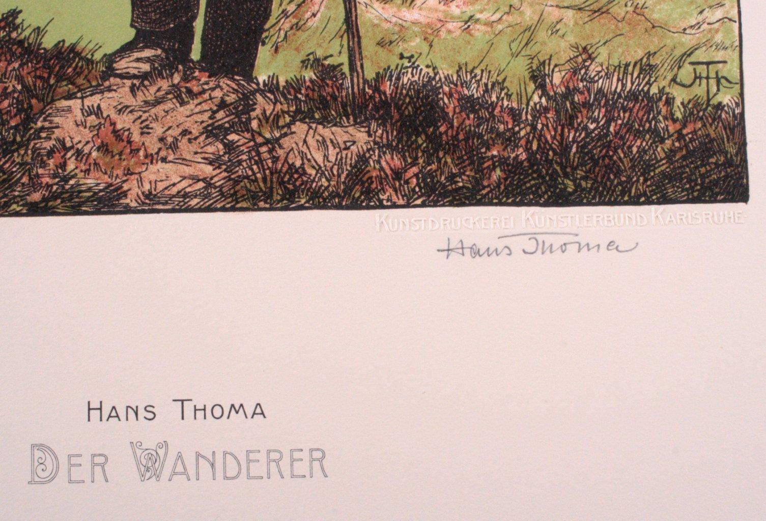 Hans Thoma 1839-1924. Der Wanderer (1903-1906)-1