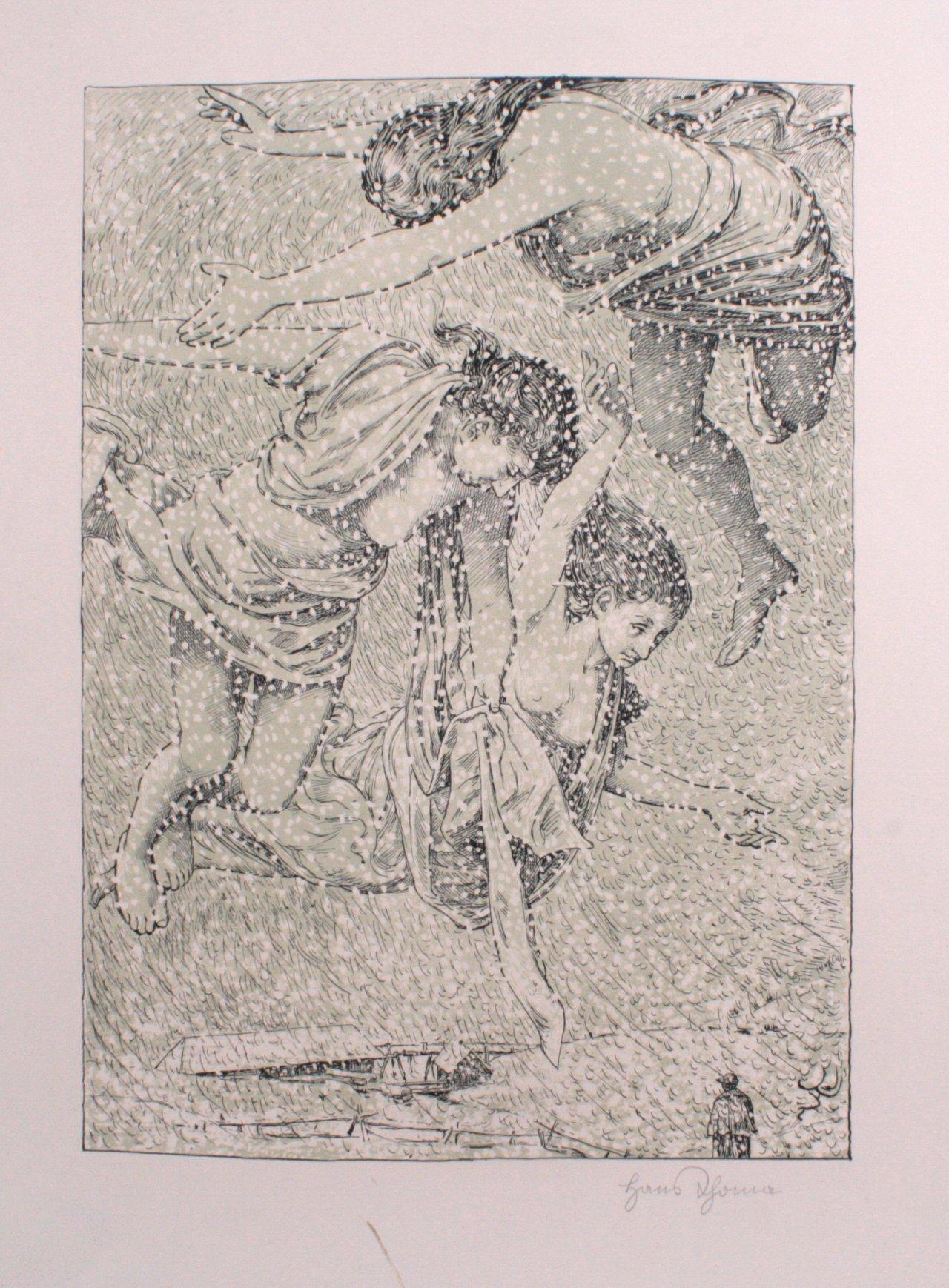 Hans Thoma 1839-1924. Mythologische Szene
