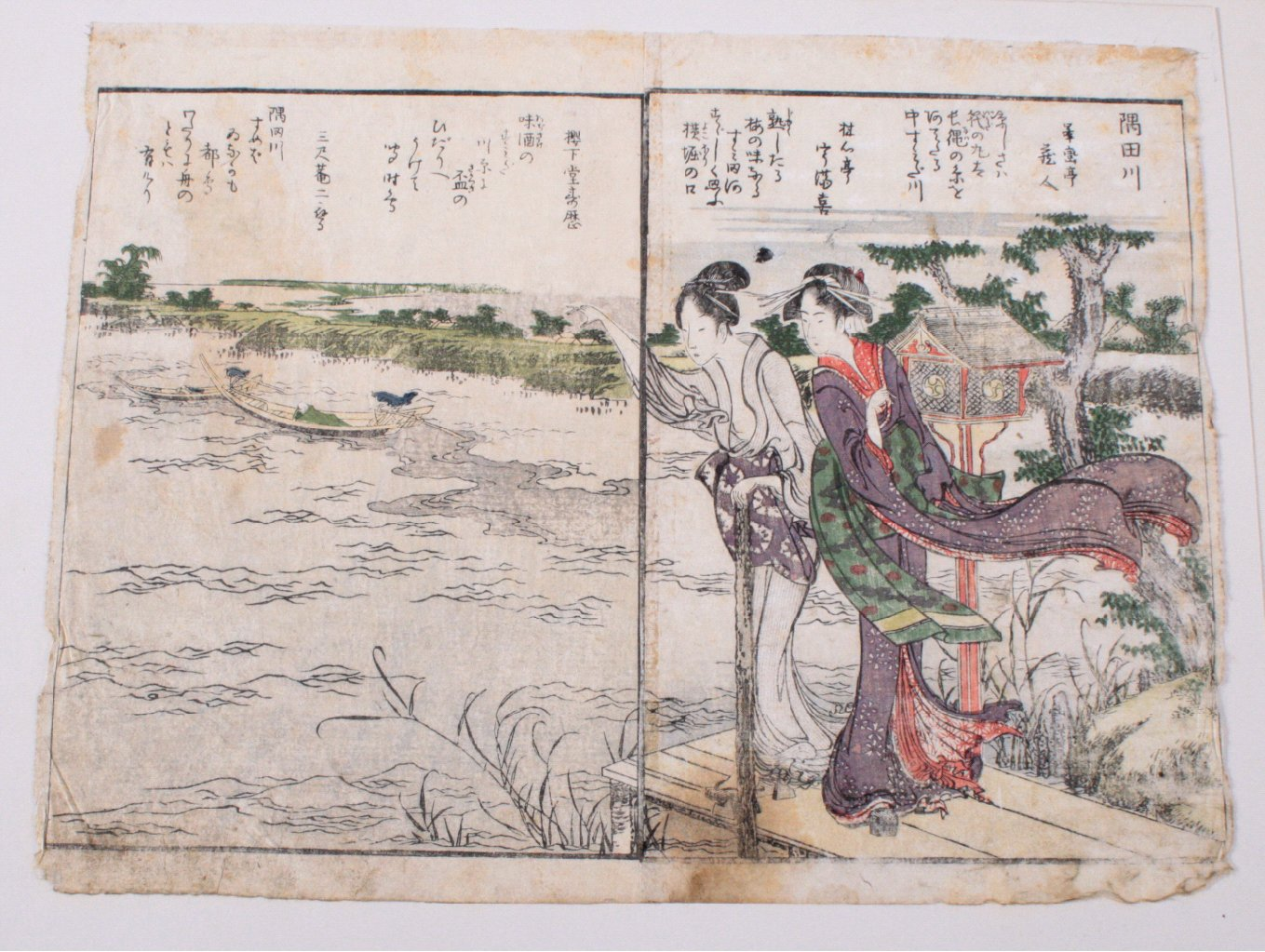 Japan um 1900 ?, Farbholzschnitt