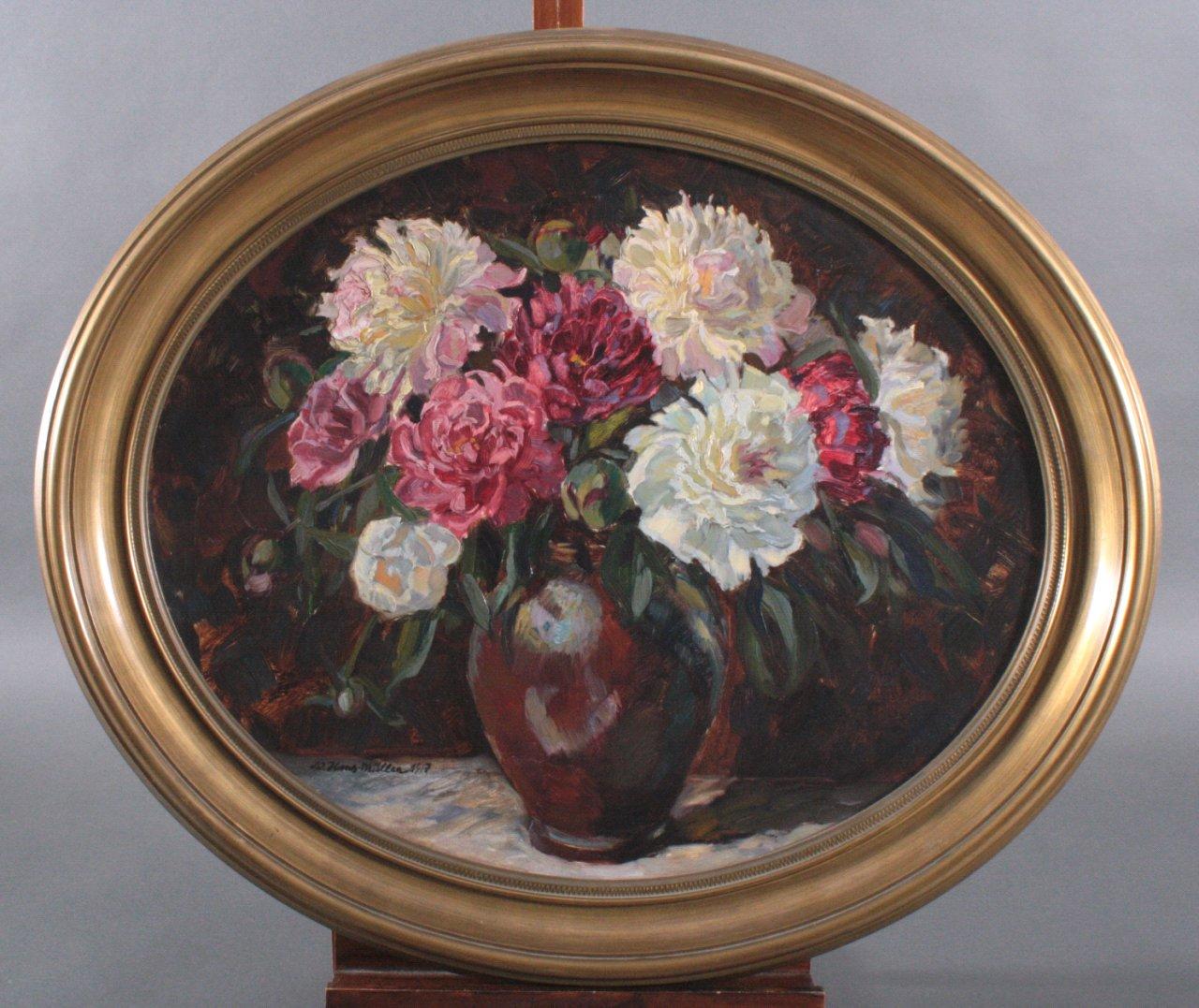 Hans Adolf Müller 1888-1934, Blumenstilleben