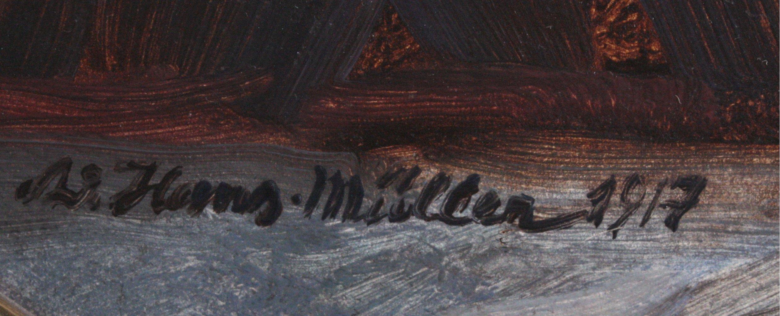 Hans Adolf Müller 1888-1934, Blumenstilleben-1