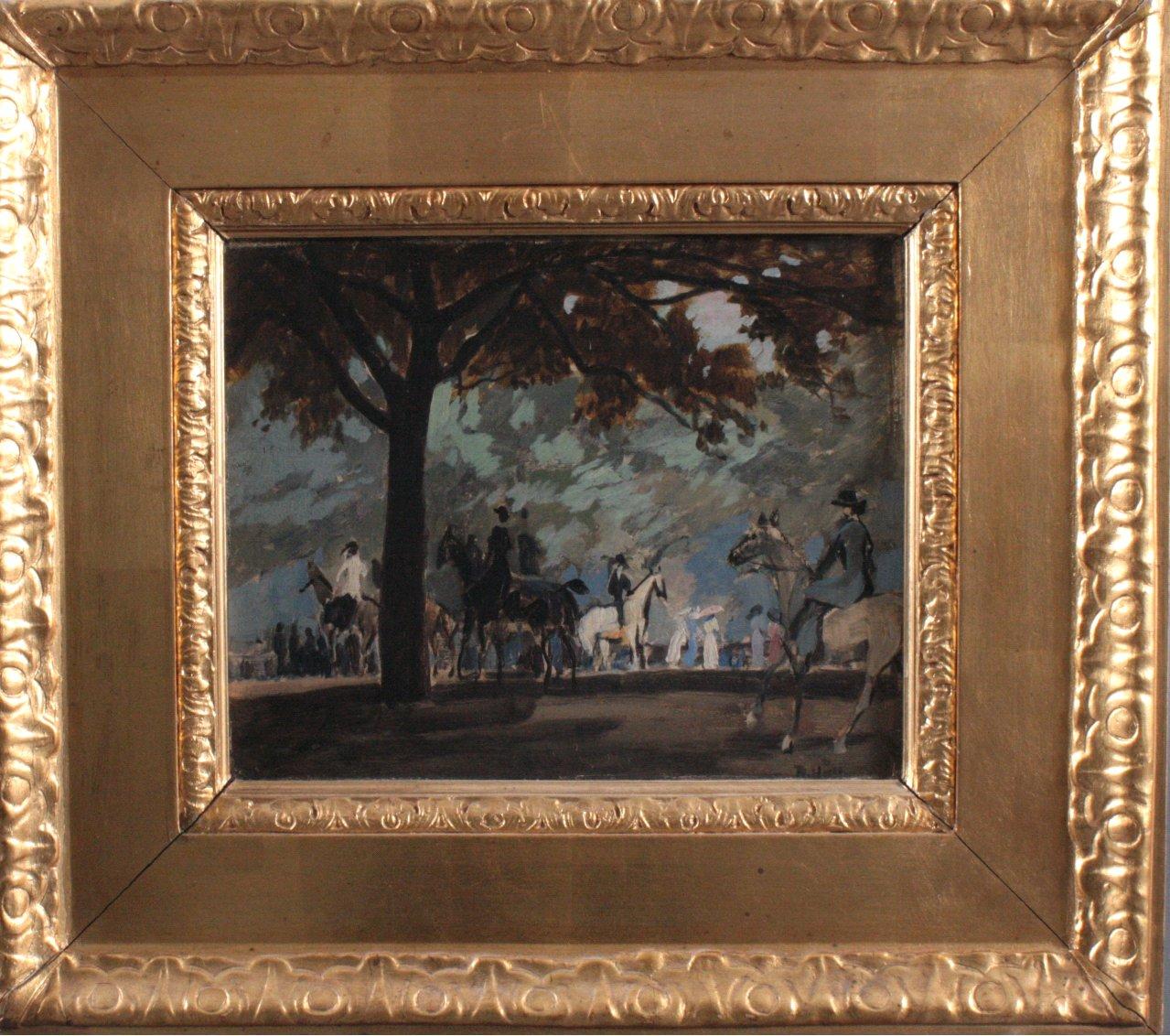 "Rudolf HELLWAG (1867-1942) ""Rotten Pov London"""
