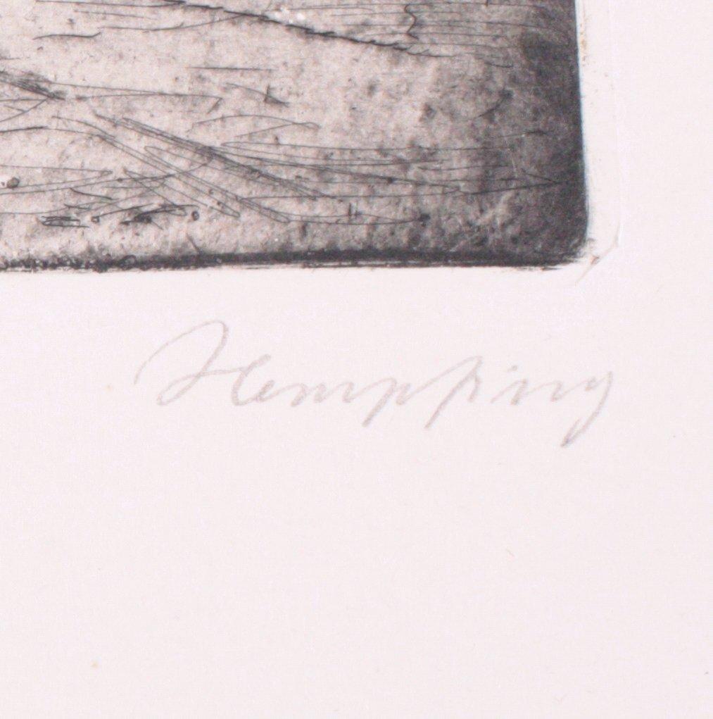 "Wilhelm HEMPFING (1886-1948) ""Brücke in Venedig""-2"