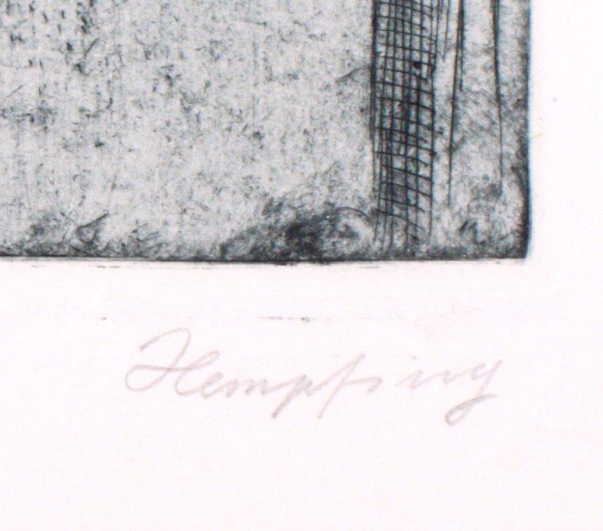"""Wilhelm HEMPFING (1886-1948) """"Frau mit Papagei""""-1"""