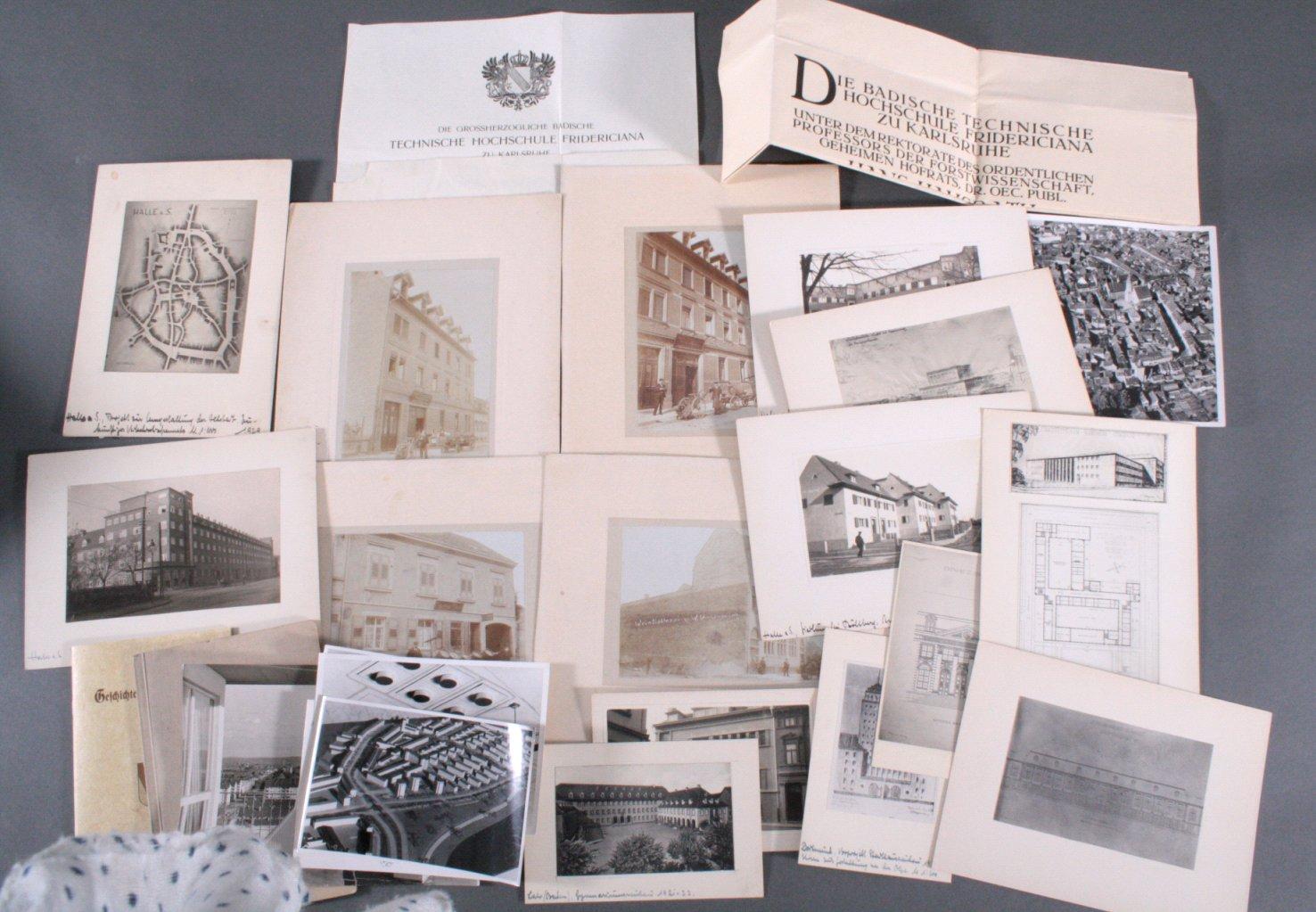 Papier und Fotonachlass