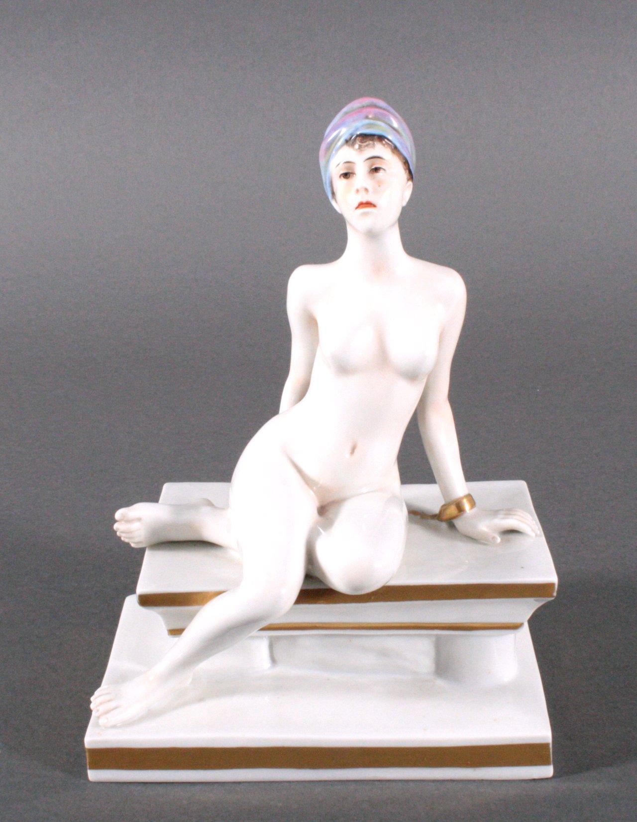 Porzellan-Skulptur, Aelteste Vokstedter.