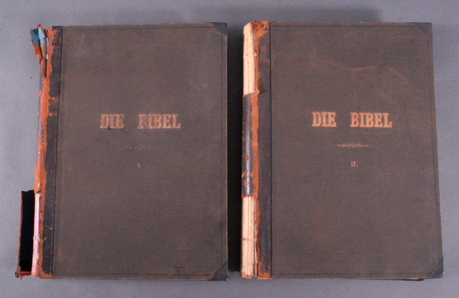 Doré – Bibel 2 Bände, wohl 1884