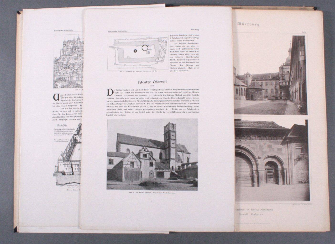 Historische Städtebilder, Serie 1, Band 2: Würzburg-1