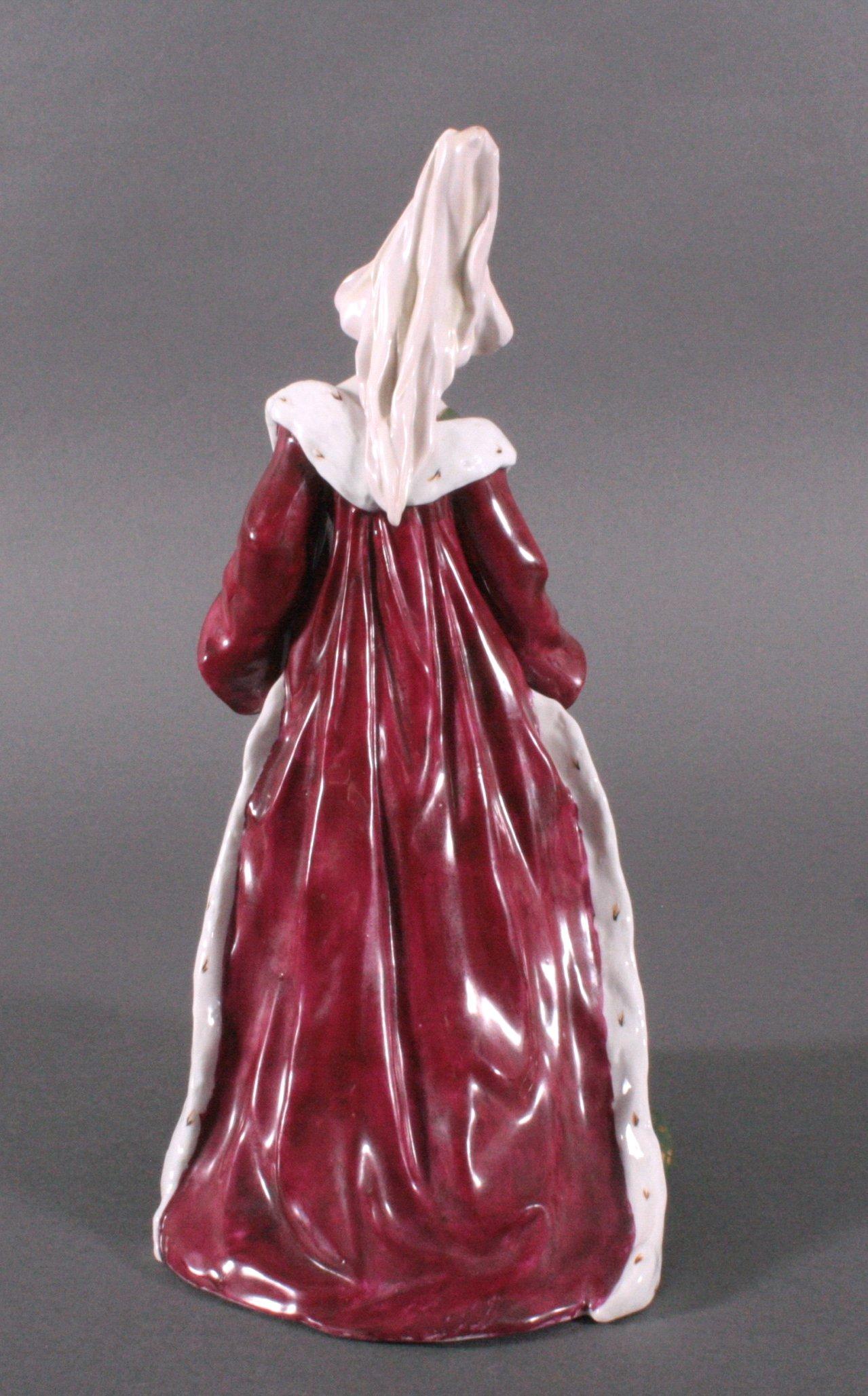 """Porzellanfigur """"Elegante Dame"""" um 1900-1"""