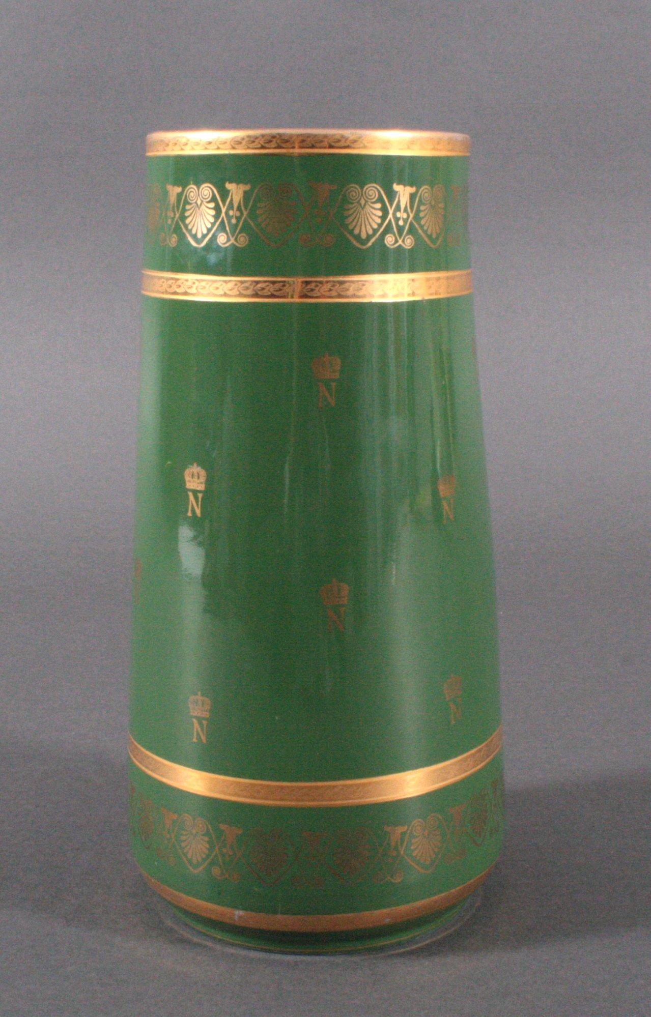 Französische Porzellan-Vase, Napoleon-4