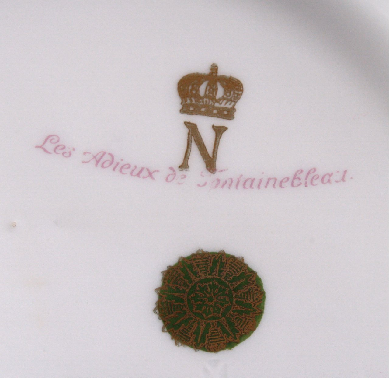 Französische Porzellan-Vase, Napoleon-5