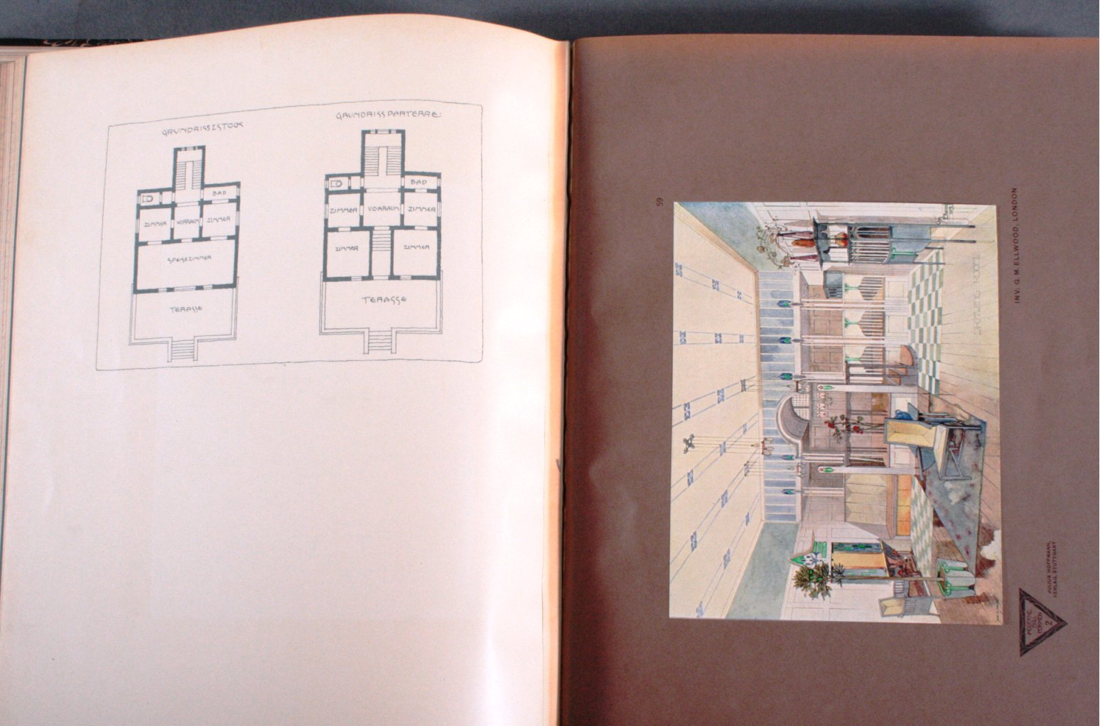 Moderne Bauformen, Julius Hoffmann, 1903-2