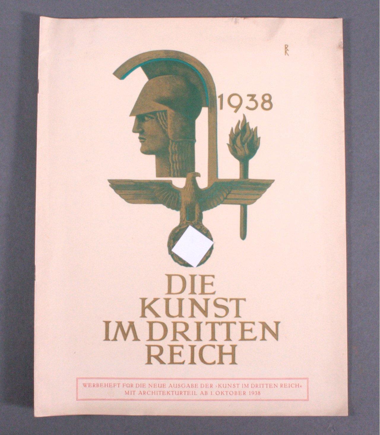 Die Kunst im Dritten Reich – Werbeheft