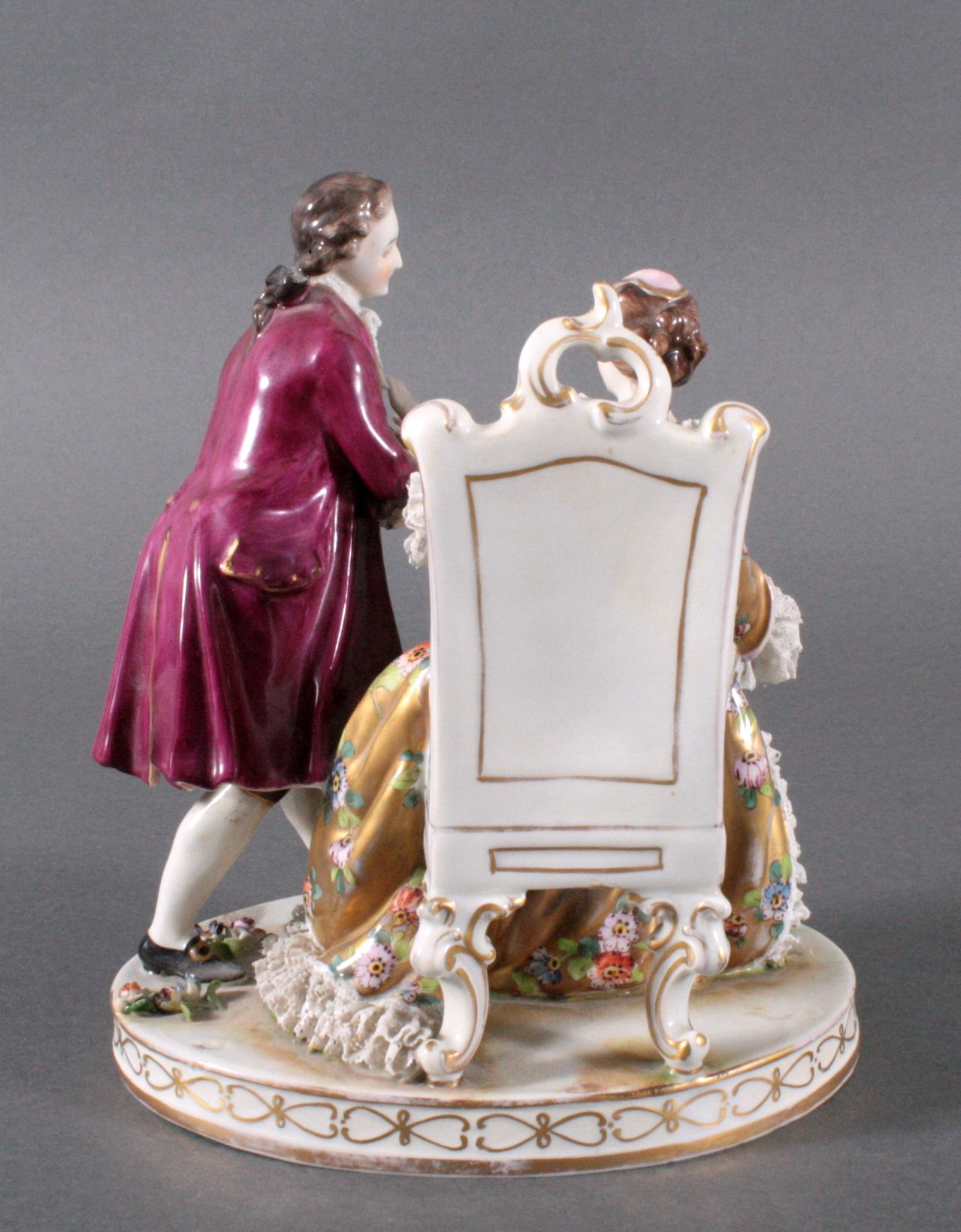 Porzellan-Skulptur, Aelteste Vokstedter-1
