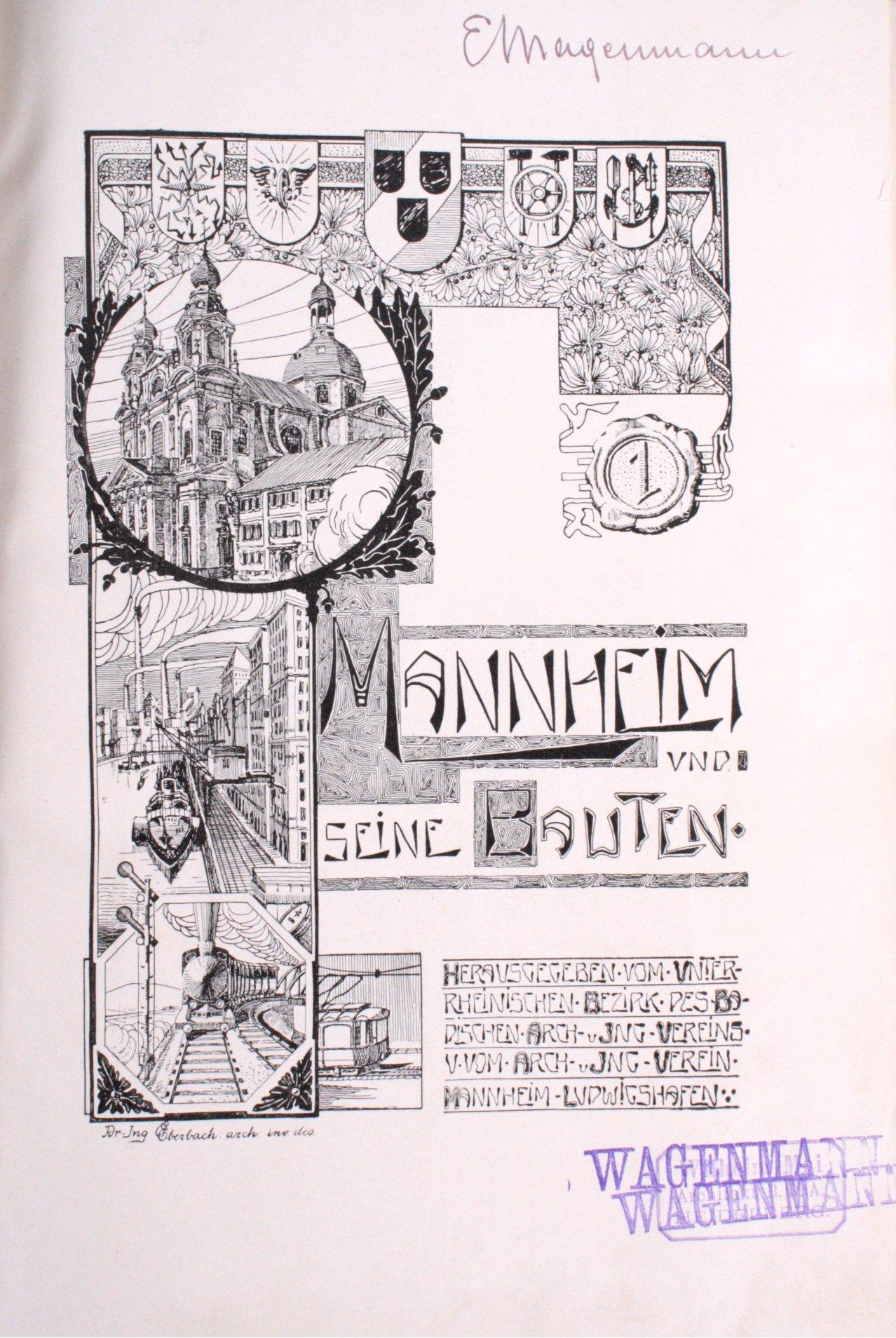 Mannheim und seine Bauten, 1906-1