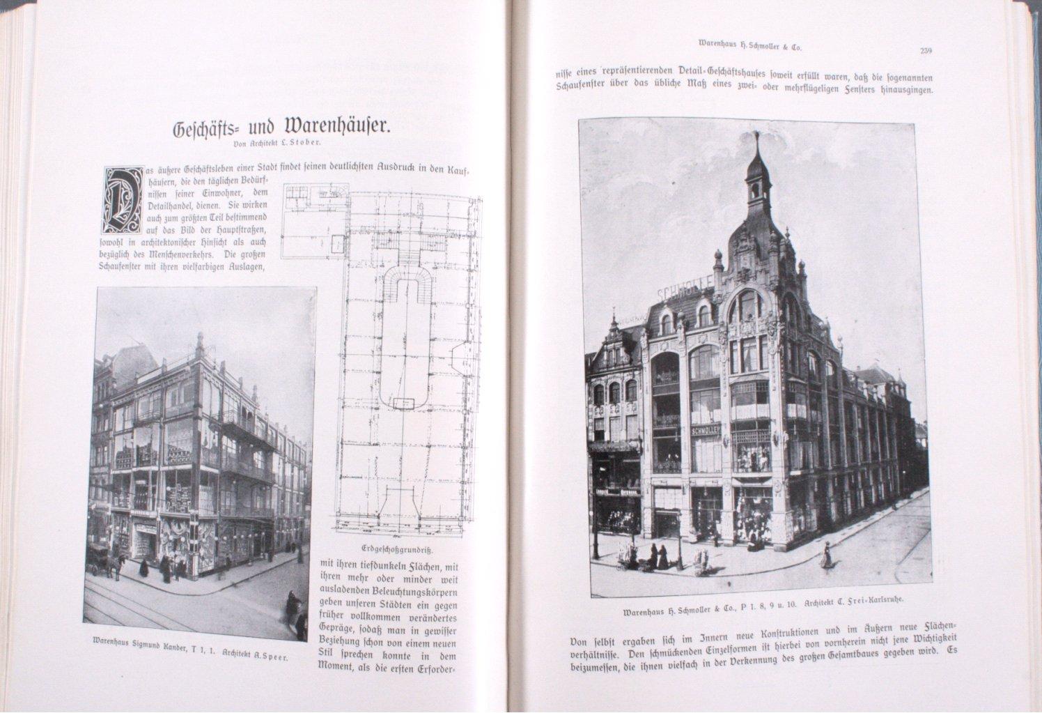 Mannheim und seine Bauten, 1906-2