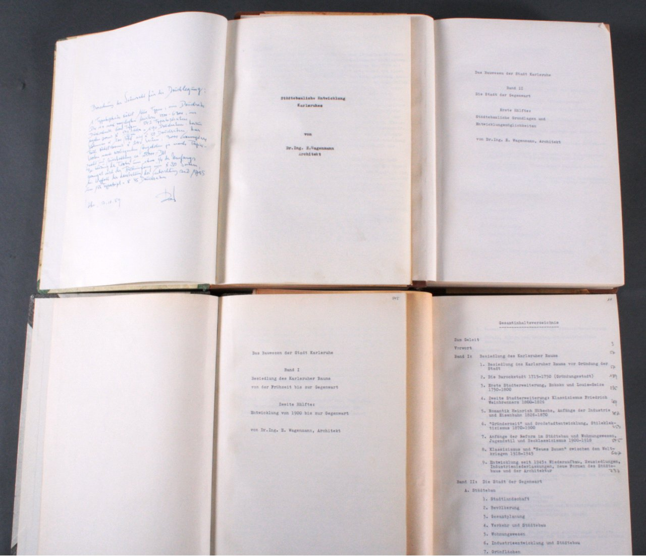4 Manuskripte von Dr. E. Wagenmann-1
