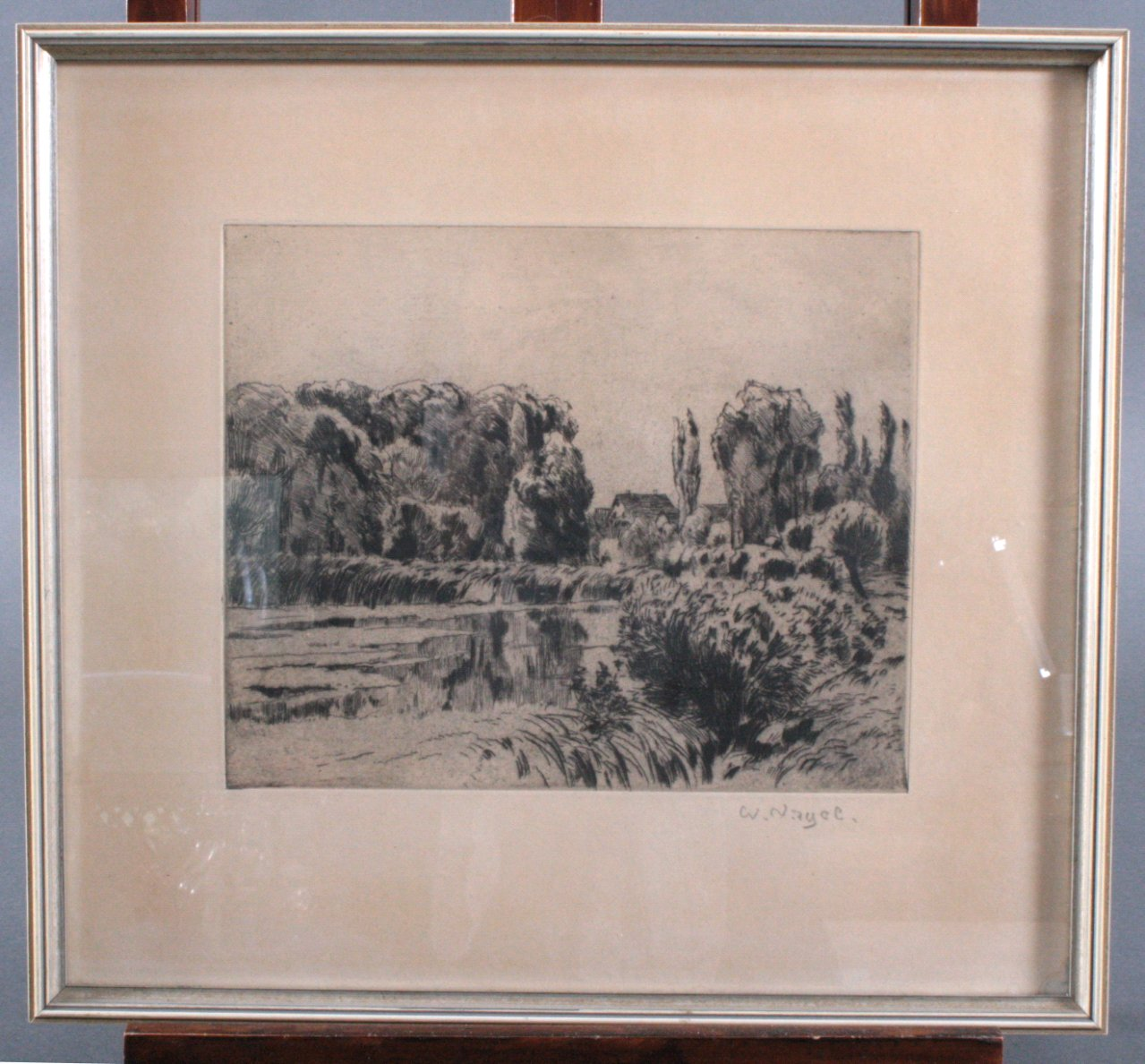 "Wilhelm Nagel (1866-1944) ""Haus am See"""