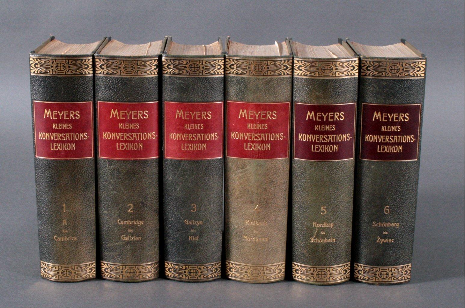 Meyers kleines Konversationslexikon,