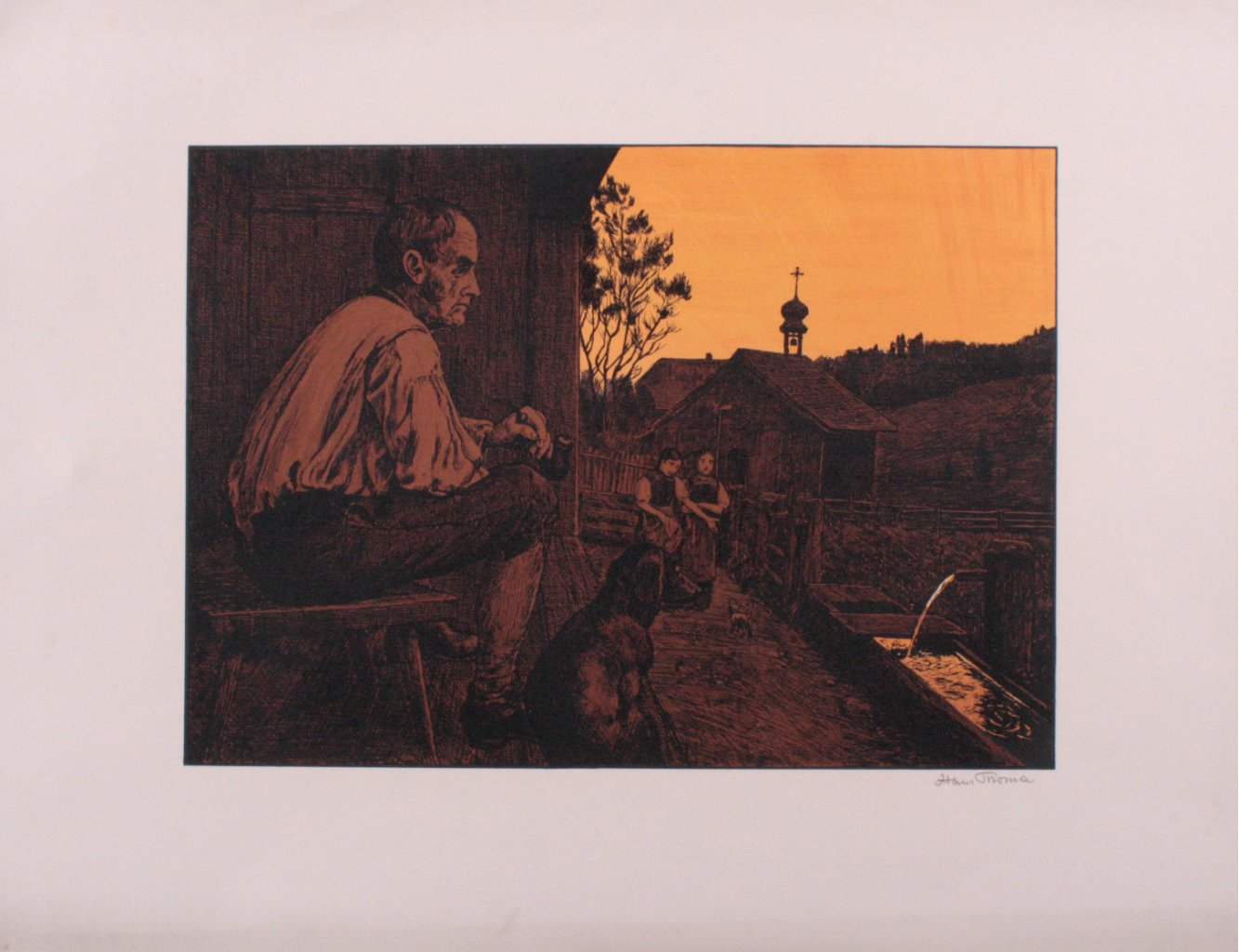 Hans Thoma 1839-1924. St. Anton bei Partenkirchen