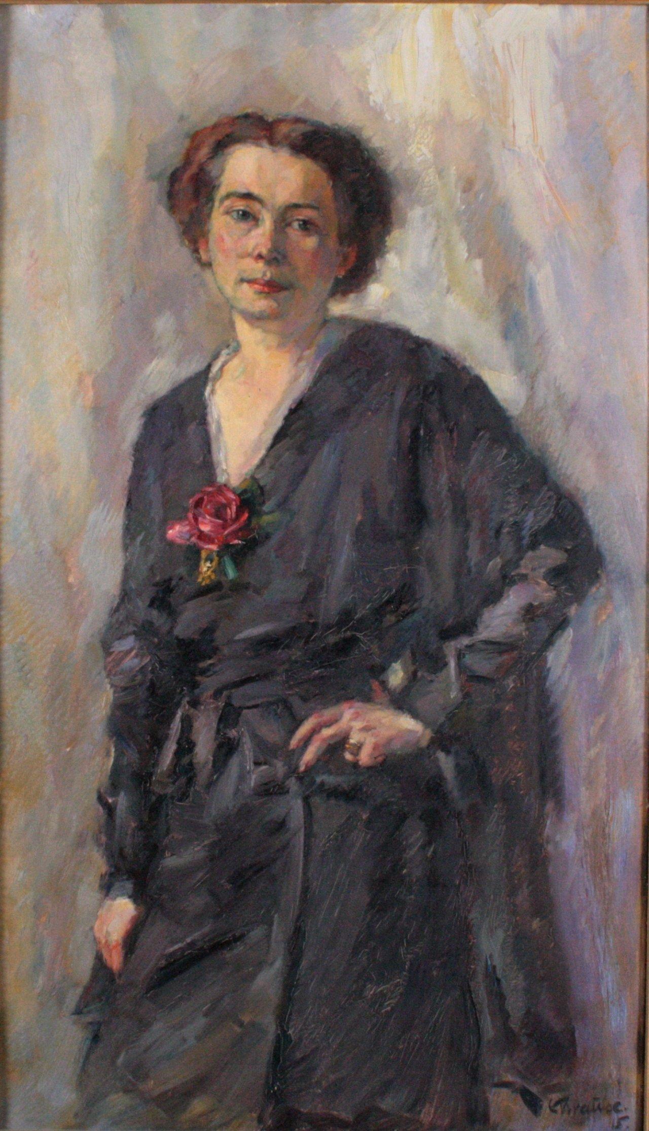 "Erich Krause 1886-1954, ""Damenbildnis""-1"