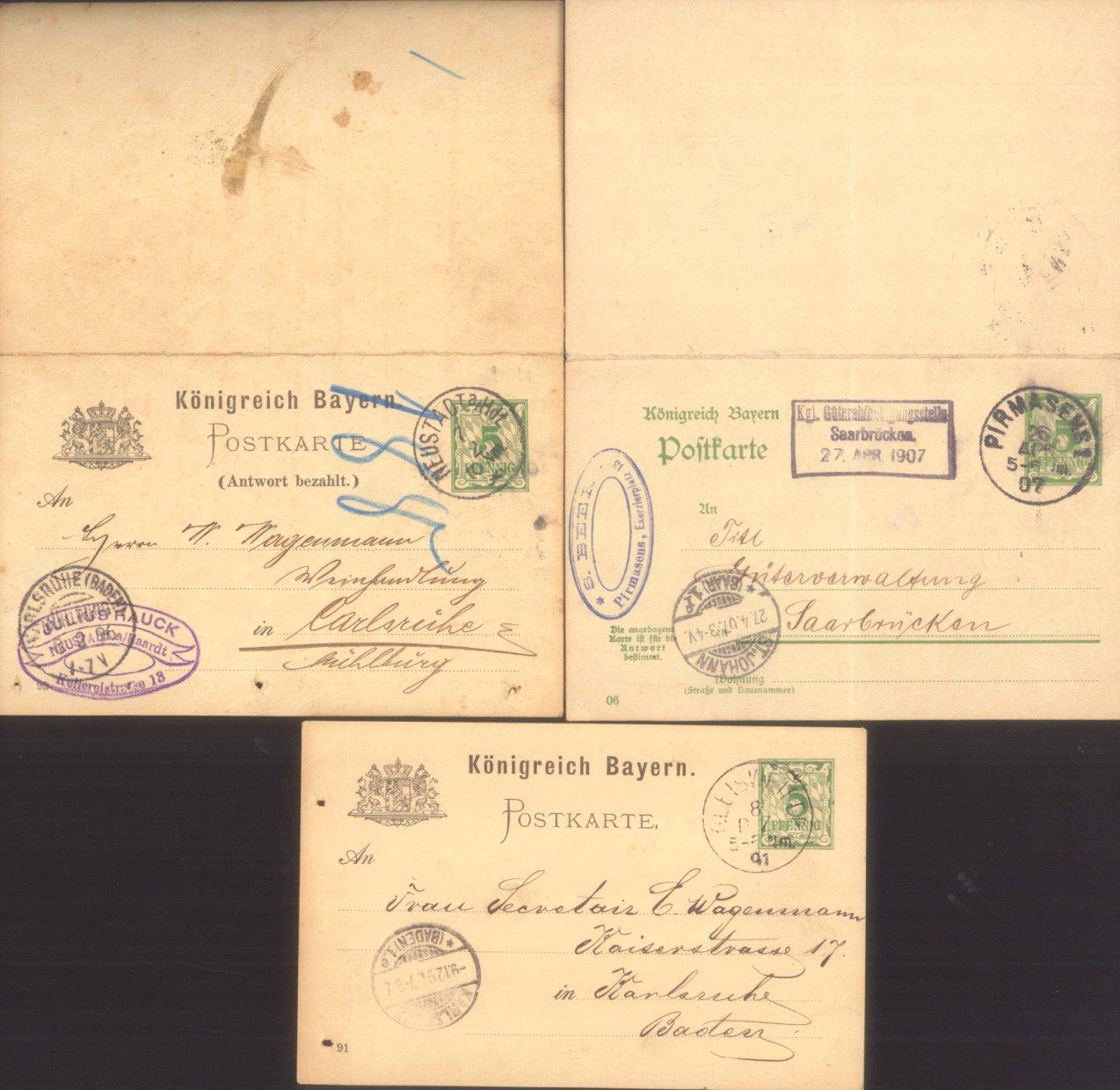 BAYERN 1891-1907