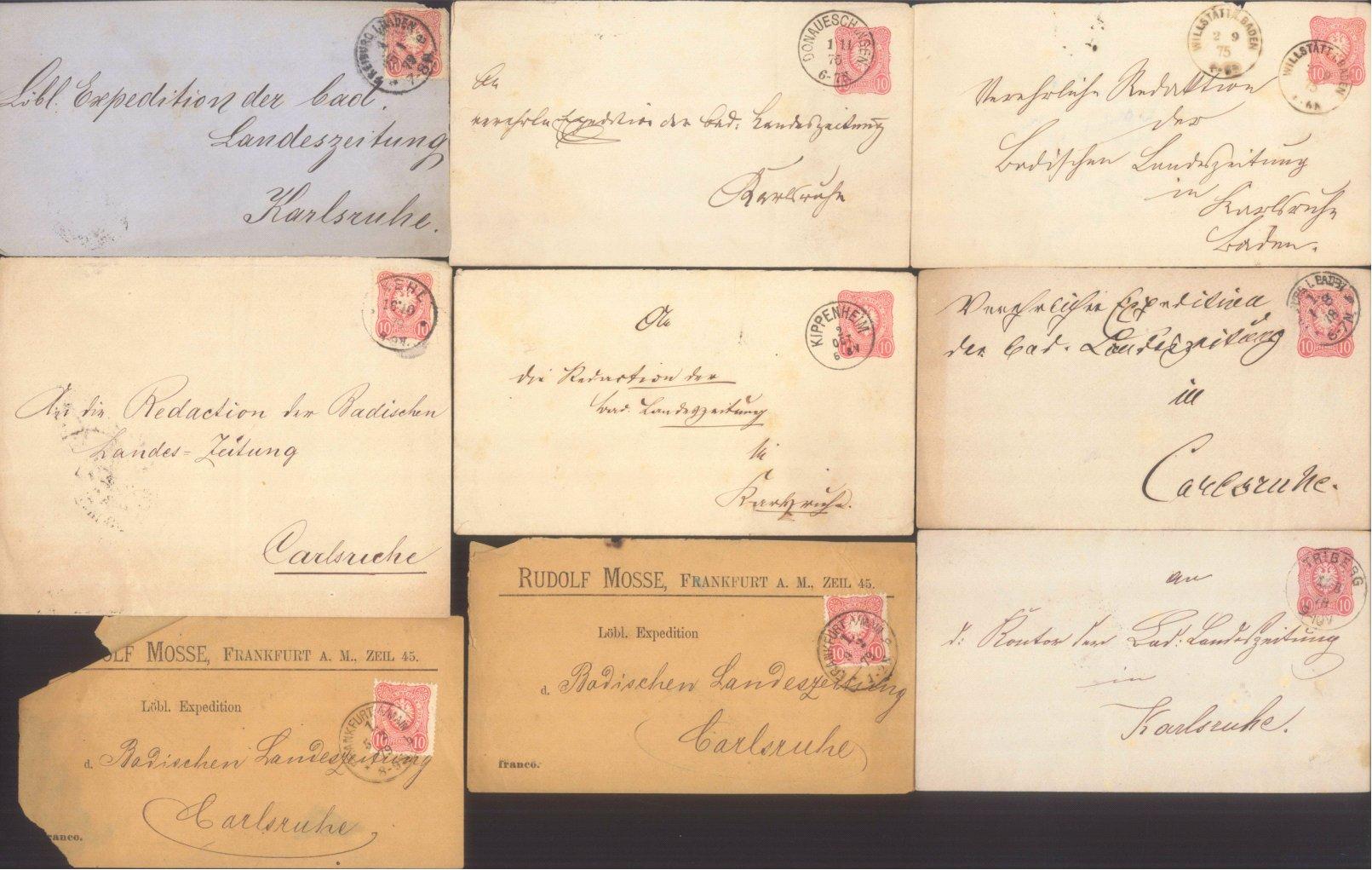 DEUTSCHES REICH Kaiserreich 1875-1906