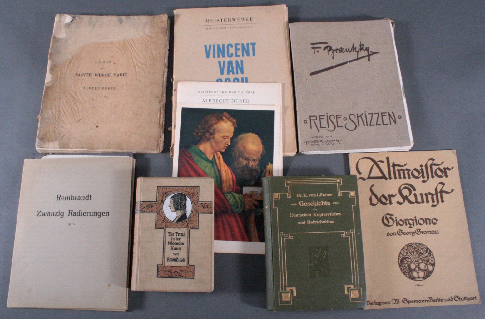 6 Kunstbücher