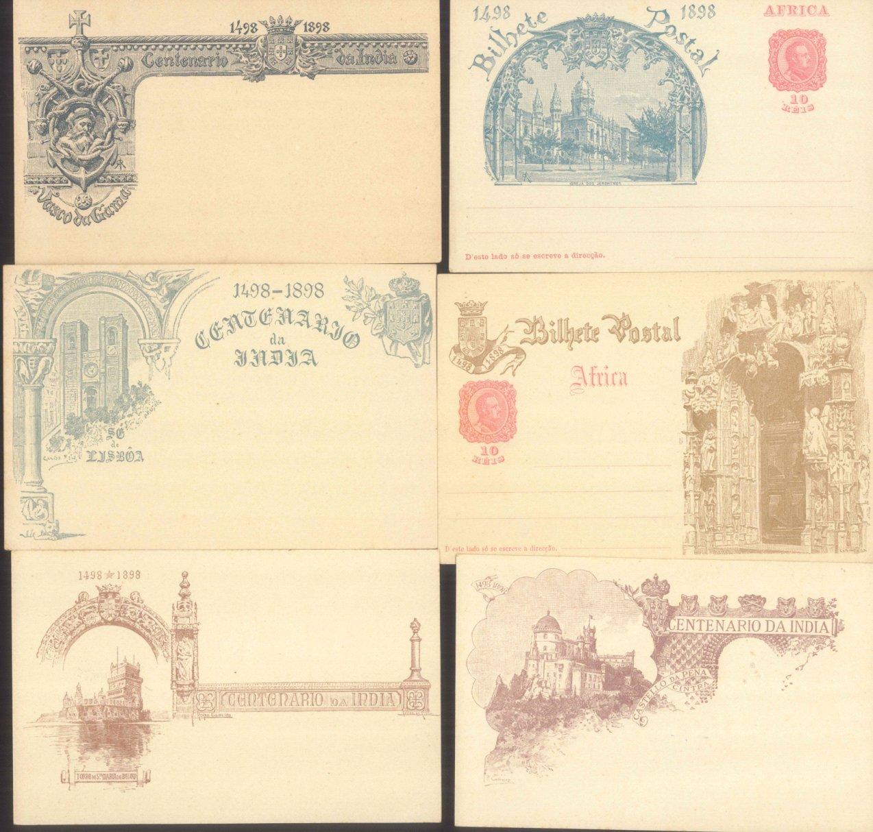 PORTUGISISCH – AFRICA 1898