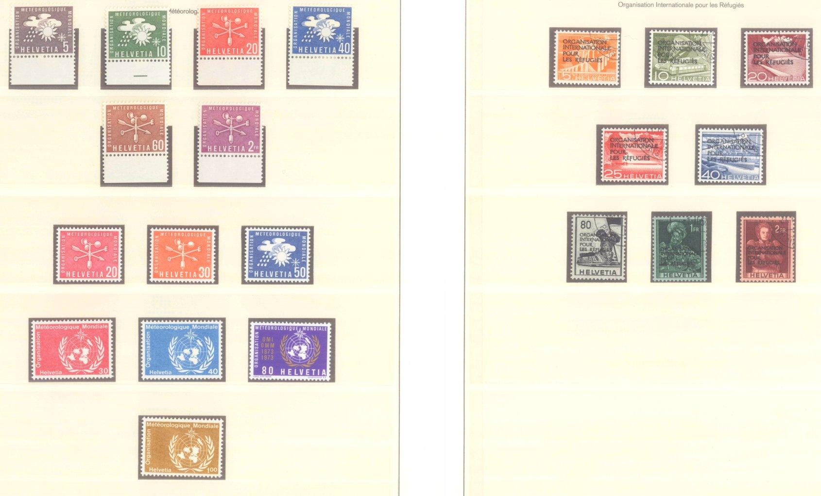 SCHWEIZ – INTERNATIONALE FLÜCHTLINGSORGANISATION 1950