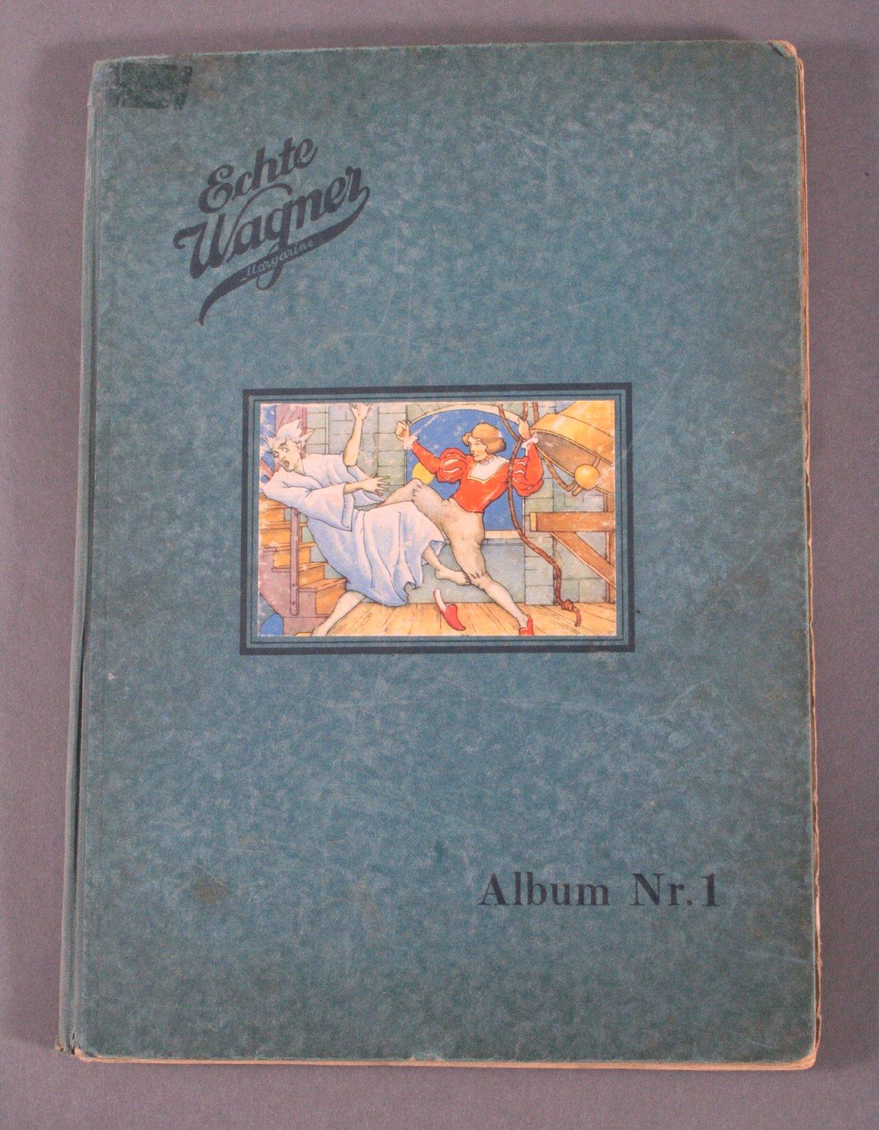 Wagner Sammelbilderalbum Nr. 1