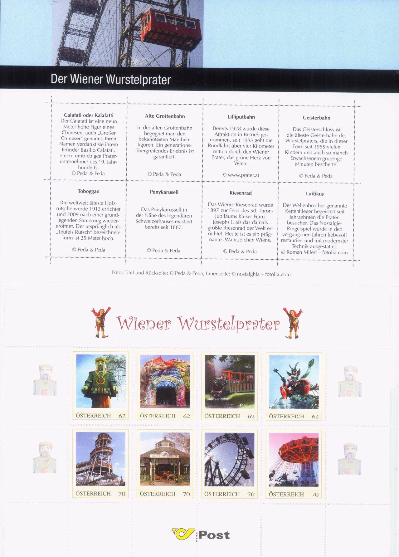 ÖSTERREICH 2011, Marken Edition 8-3