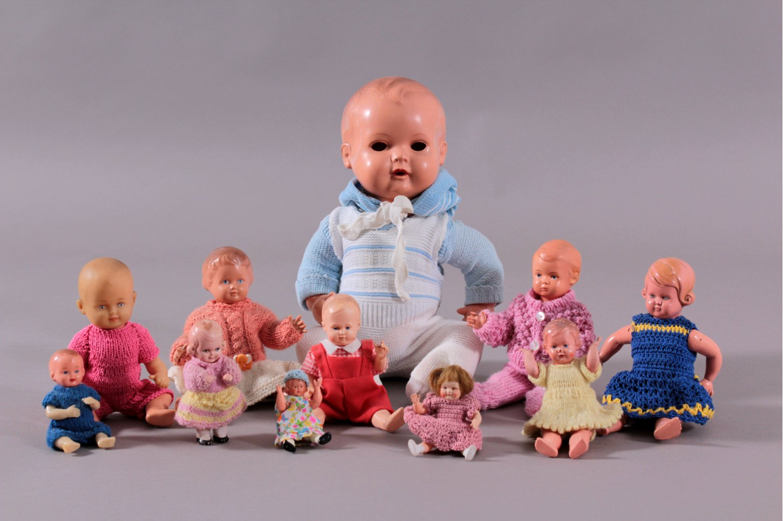 11 Schildkröt Puppen