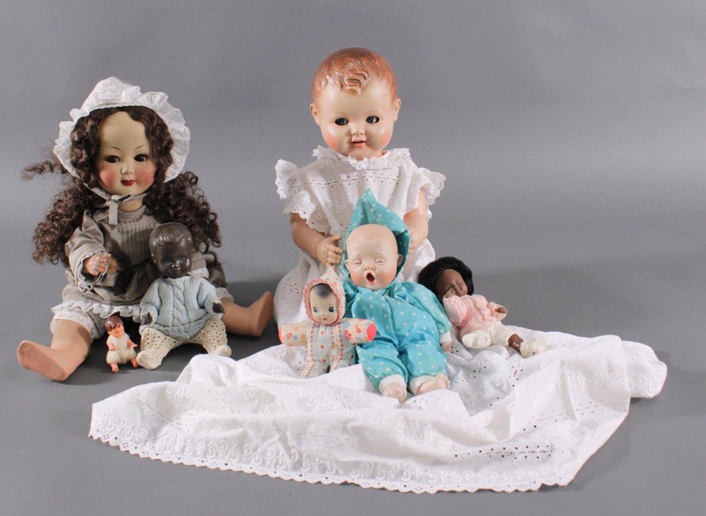 7 Puppen