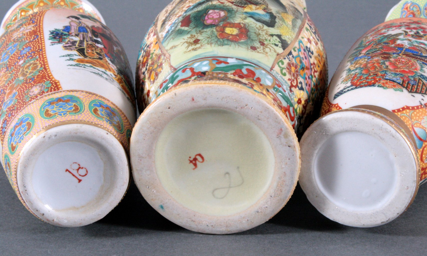 3 asiatische Vasen-1