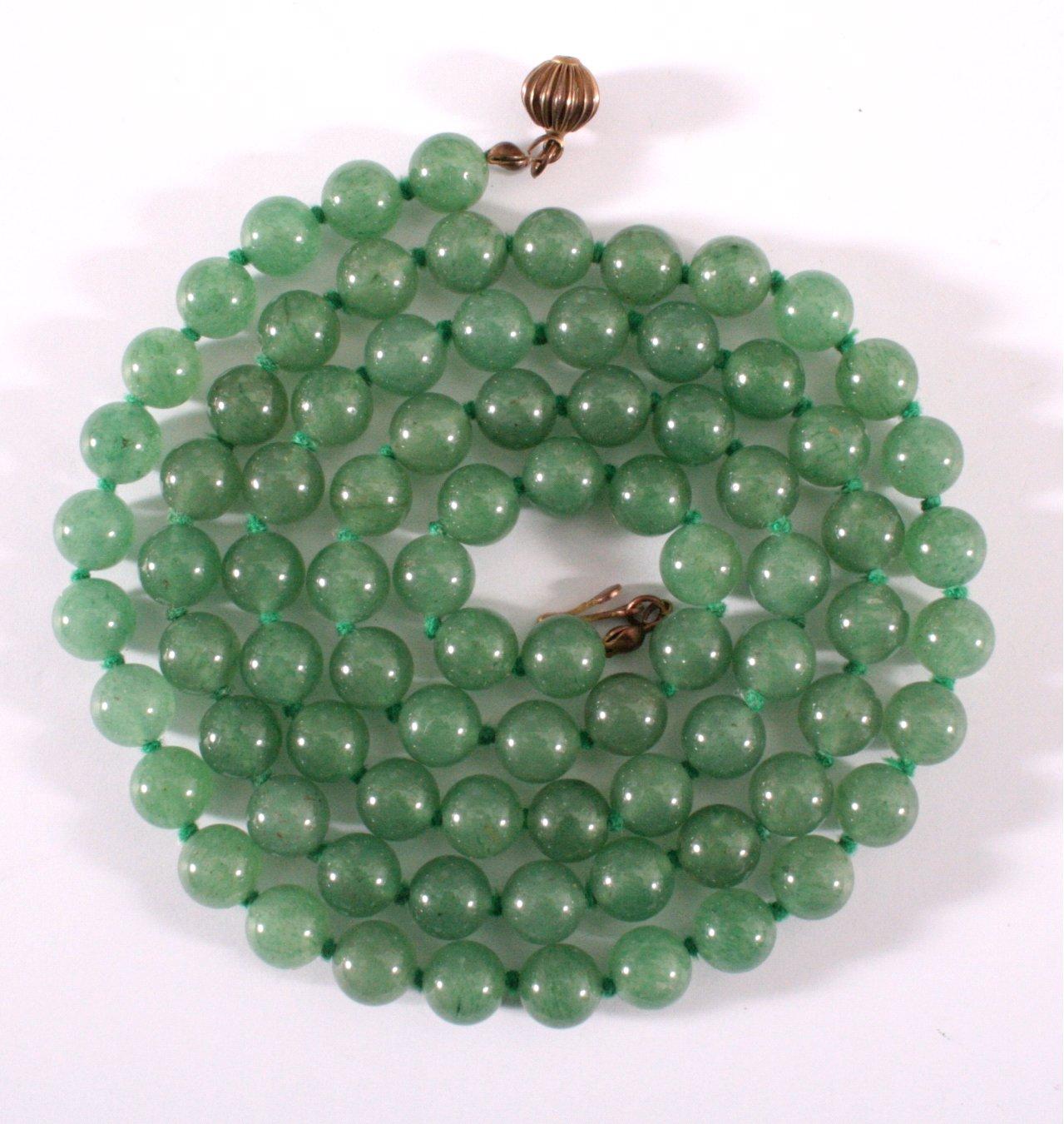 Antike Jade-Kette