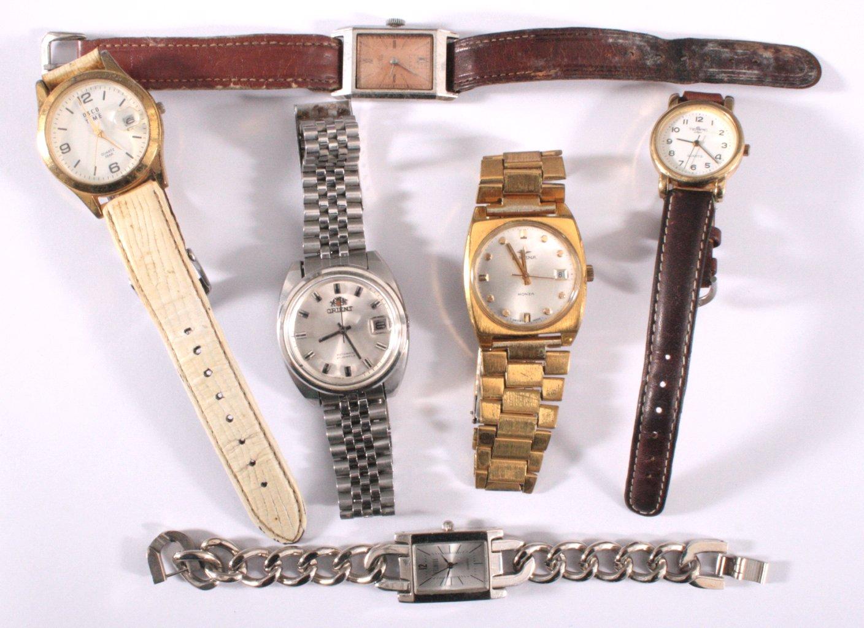 6 Armbanduhren