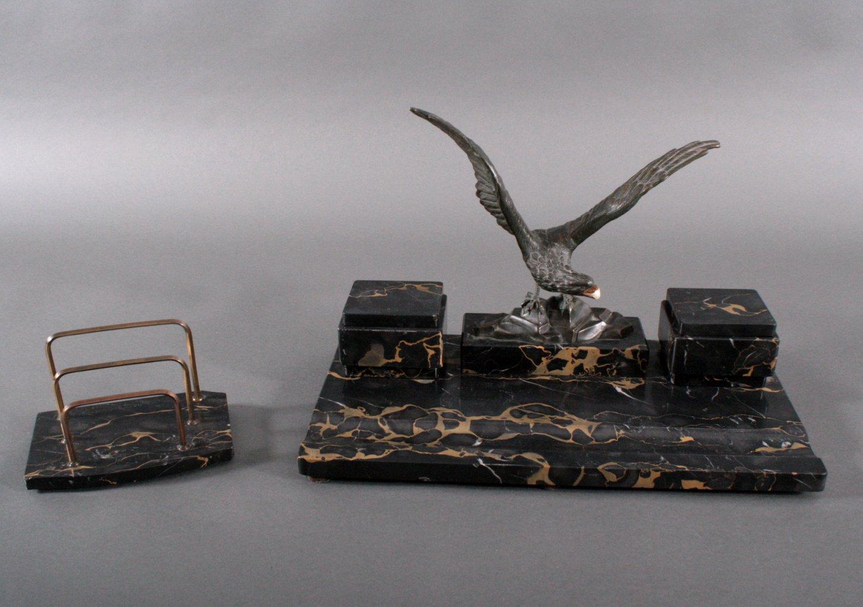 Schreibtischgarnitur Art Deco